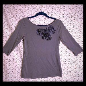 3/$25 LOFT, gray, 3/4 sleeve